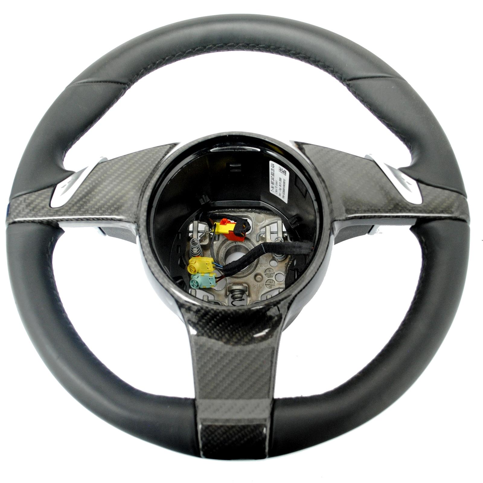 porsche 911 987 997 cayman lenkrad mit carbon abdeckung. Black Bedroom Furniture Sets. Home Design Ideas