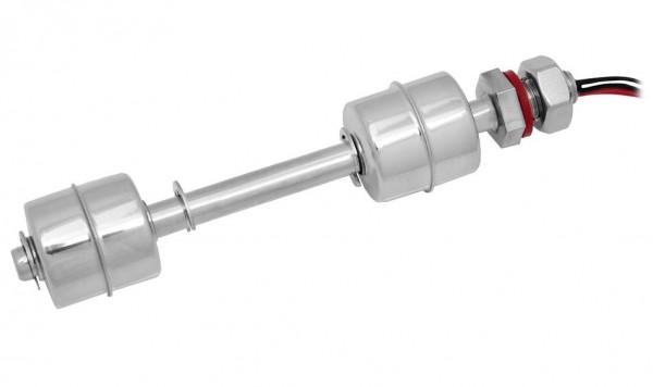 Edelstahl V4A Magnettauchsonde Pegelschalter Schwimmerschalter Wasserstandsensor