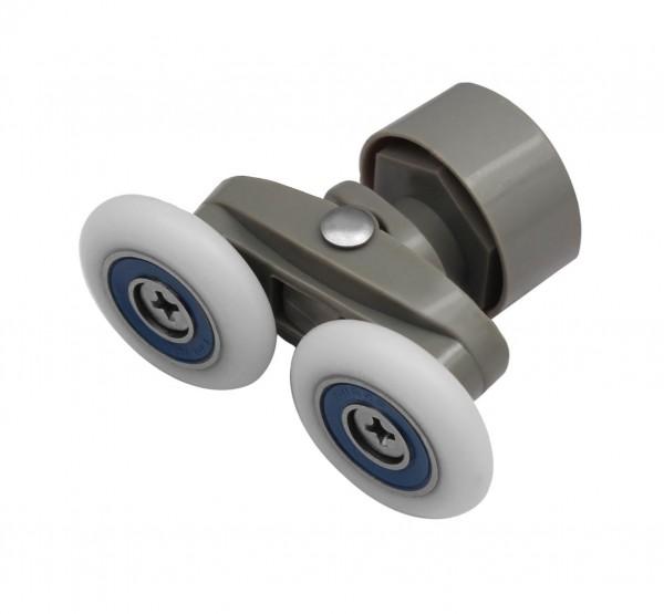 26mm Laufrolle Duschtüre Glastüre Schiebetürbeschlag Schiebetür Rolle 30-16