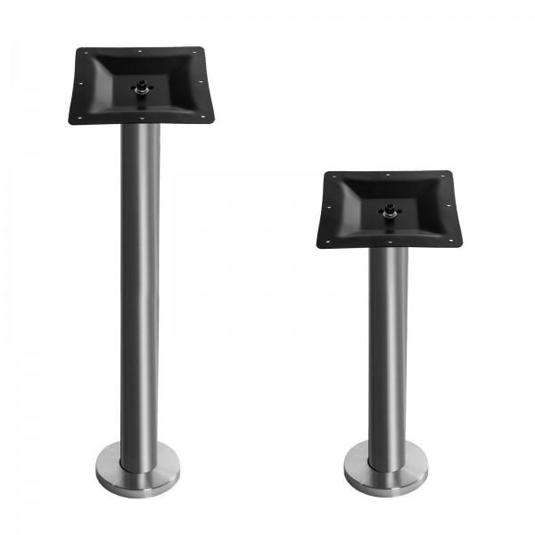Tischgestell für Bodenmontage Bistrotisch Untergestell Tischfuß Gastro Tisch