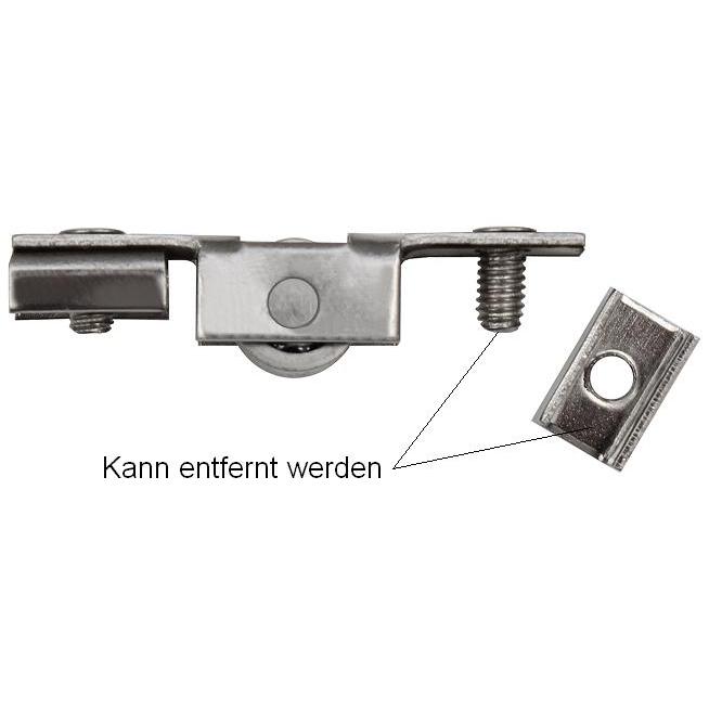 Beliebt Laufrollen Schiebetür Laufschiene Bodenschiene Schiebetürrollen MS48