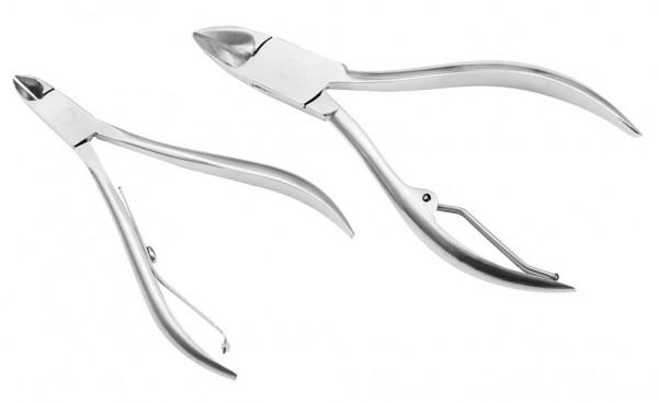Stahl Nagelzange Nagelschere Eckenzange Fußnagelzange Nagelknipser Pediküre