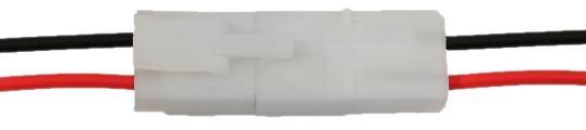 5 Paar Tamiya Stecker Kupplung mit Kabel Lipo 13,4mm Akku Buchse
