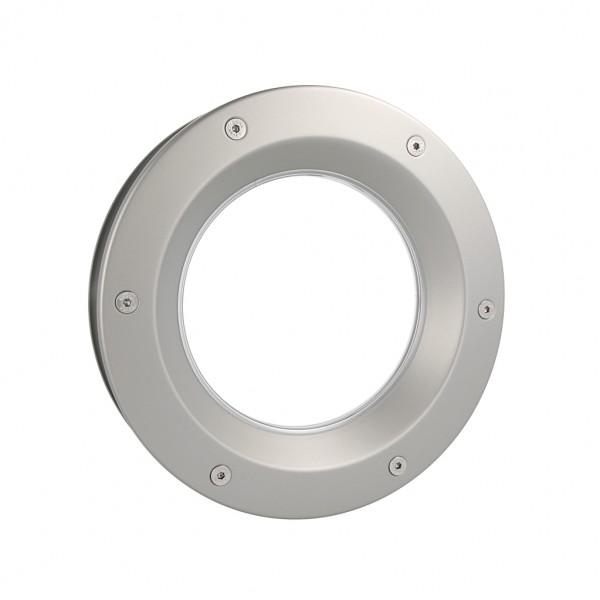 MLS Bullauge B6000 Rundfenster Aluminium Edelstahloptik Ø 40 cm Glas klar 0180-0203-A6