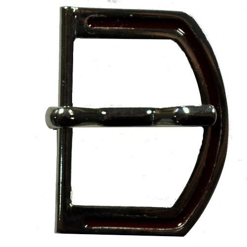 Gürtel Schnalle Schließe silber für 30 mm Riemen Buckle Ledergurt (17)