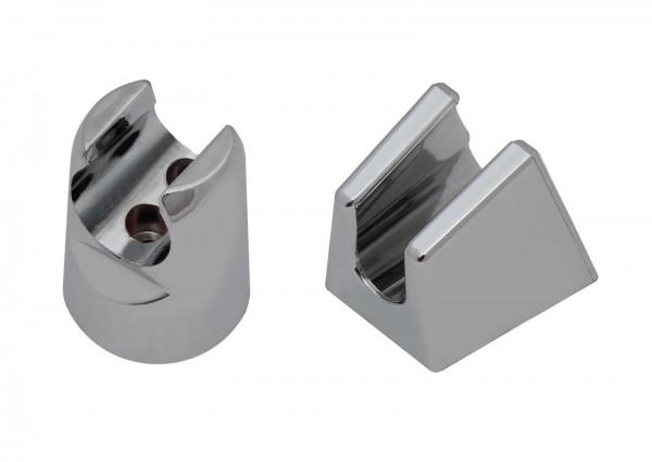 Duschkopf Halter Modell CHROM für Wandmontage Brause Dusche Halterung Brausekopf