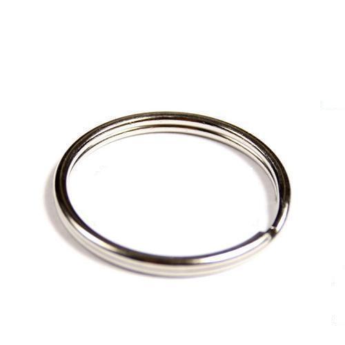 250 Schlüsselringe Außen Ø20mm / Innen Ø17,5mm gehärteter Stahl Schlüsselring