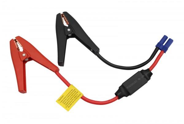 Hochstrom Kabel KFZ Batterieklemmen 5,27mm2 Sicherung Ladekabel Krokodilklemmen