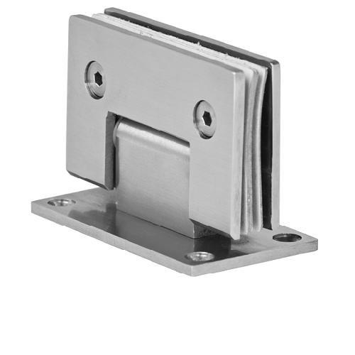 Edelstahl 10mm Glastür Scharnier Duschtür Türbeschlag Band Türbeschläge Beschlag