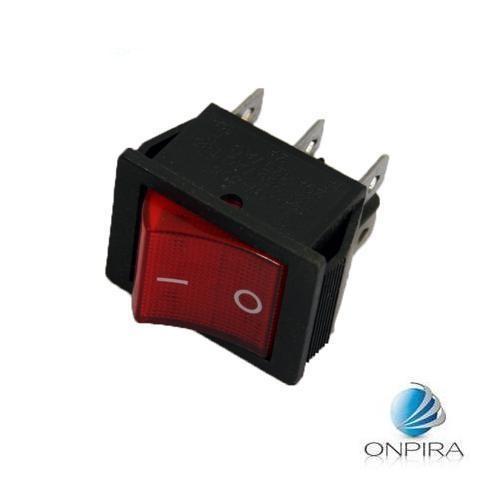 5 x Wippschalter Wippenschalter Schalter 2x EIN/AUS (UM) 22x30mm 250V 20A