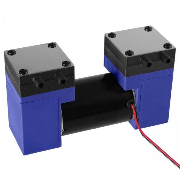 2 Zylinder 12V Luftpumpe Vakuumpumpe Kompressor elektrische Vakuum Luft Pumpe
