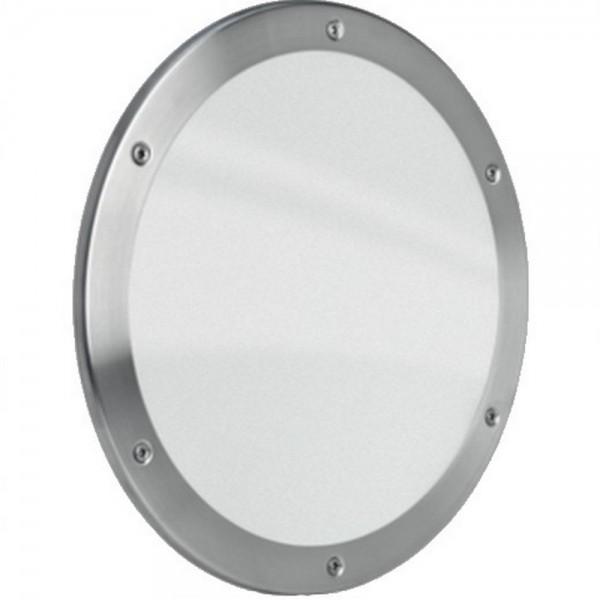 MLS Bullauge B5000 Rundfenster Edelstahl gebürstet Ø 30 cm Glas matt 0180-0191
