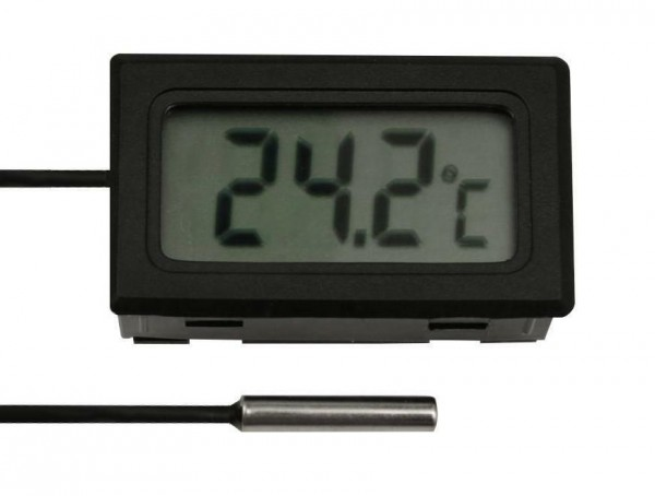 Digitalthermometer Thermometer LCD Digital Kabellänge: 1 - 10m -50 bis +70°C