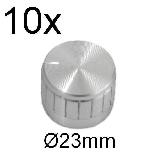 Drehknopf Durchm.Achse 6mm ohne Anzeige Kunststoff  Ø20x15mm 332.6 Drehknöpfe f